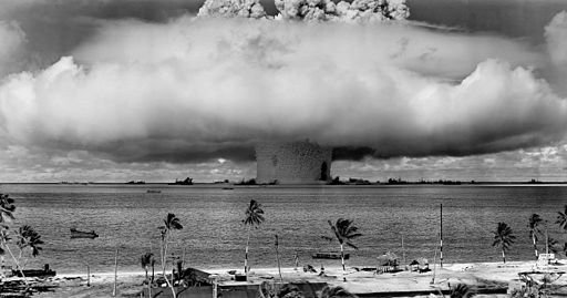 Operation Crossroads Baker - Source: https://commons.wikimedia.org/wiki/File%3AOperation_Crossroads_Baker_Edit.jpg