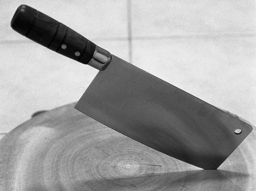 A cleaver -- Original photo by Mark Coggins / CC By 2.0
